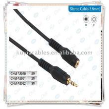 Câble AV, câble d'extension audio femelle de 3,5 mm