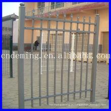 Cerca de ferro, cerca decorada, portão, corrimão