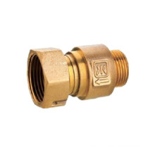 1/2 'Forged Brass Female Thread Compression Water Meter Coupling