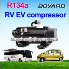 Compresseur rotatoire d'inventer de 12v 24v cc pour le climatiseur solaire