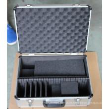 Caja de herramientas de aluminio, caja de herramientas, juego de herramientas, bolsa de herramientas