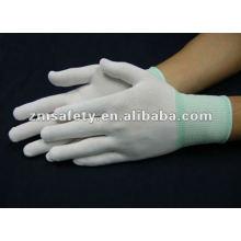 Lint Free ESD Glove With PU Palm Coated