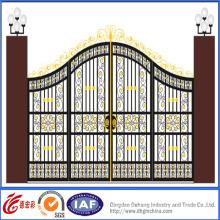 Portão de qualidade superior decorativo estilo real