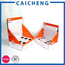 Бумажная упаковывая коробка изготовленный на заказ напечатанные коробки дисплея картона