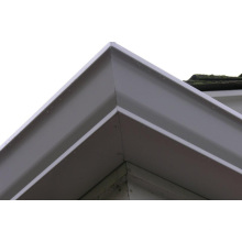 Custom USA Style Rain Gutters for European House