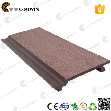 157mm width WPC decorative wall cladding panel