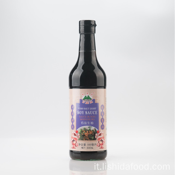 500 ml di salsa di soia chiara sotto sale