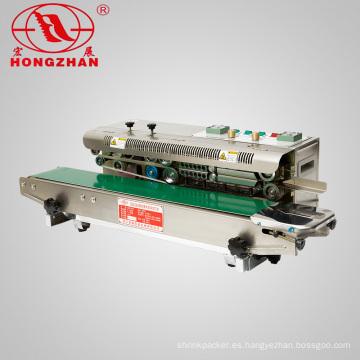 CBS980 Automático aluminio papel bolsa de plástico banda sellado de la máquina con la impresora de la fecha