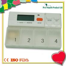 Alarme de rappel de minuterie de pilule avec boîte de pilule