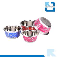 Tazón de metal de estilo chino tazón de acero inoxidable mezcla cuenco conjunto