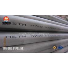 Aço inoxidável duplex tubo ASTM A789 S32205