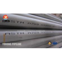 Acier inoxydable duplex Tube ASTM A789 S32205