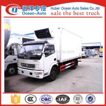 China camiones fabricante 5ton camión frigorífico en Sudáfrica