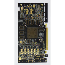 Doigts d'or dur PCB BGA complexe
