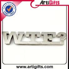 Marca y nombres de automóviles de marca de metal de suministro de fábrica