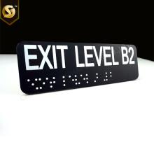 Panneaux tactiles ADA Braille personnalisés
