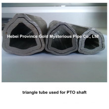 manufacturer of triangular seamless steel tube/pipe