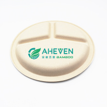 Anhui EVEN Factory Direct Supply Compostable Sugarcane Bagasse Dinner Plate For Restaurant Food Using