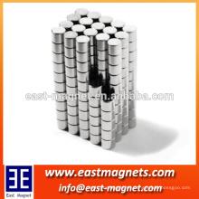 Neodymium N35 Dia 6mm x 3mm imanes fuertes Disco minúsculo NdFeB Rare Earth para modelos de artesanía