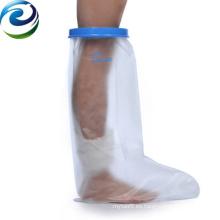 Diseño de funcionamiento fácil más nuevo Elástico resistente al agua de fundición y vestido Protector de pierna corta