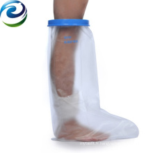 Le pied diabétique de matériau souple d'OEM ODM a couvert la jambe courte fonte imperméable adulte