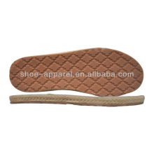 Cheap ramie Shoes Sole fabricantes al por mayor suela de goma