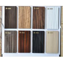 Alto brillo muebles de gabinete de cocina Puerta de material acrílico paneles de MDF para muebles de cocina
