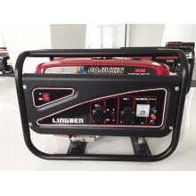 High Quality Gasoline Generator, 220V, 100% Copper Wire, Single Phase