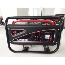 Gerador de alta qualidade da gasolina, 220V, fio de cobre 100%, monofásico