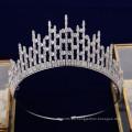 Nueva moda de alta calidad AAAzircon CZ Princess Headpiece Wedding Tiaras Crown