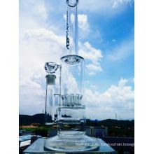 Hotting vendiendo Showerhead Inline Percolator fumar tubo de vidrio