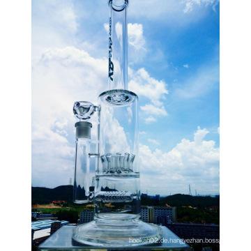 Hotting Selling Duschkopf Inline Percolator Rauchen Glas Rohr