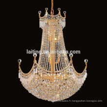 Appareils d'éclairage d'Art déco de lustre de boule de cristal pour la maison