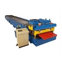 Metalldachziegelrolle, die Maschine bildet