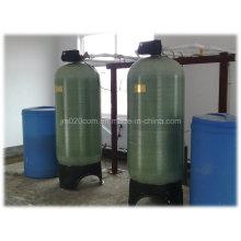 Amaciador de água com válvula Fleck para tratamento de água
