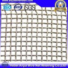 Malla de hierro cuadrado tejido galvanizado para la red del filtro