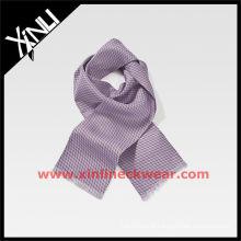 Lenço de tintura de seda nova moda Tie