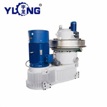 YULONG 6th XGJ850 2.5-3.5T straw pellet machine for sale