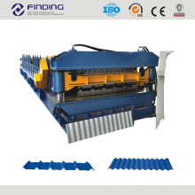 corrugated wave sheet roll forming machine