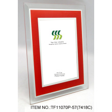 Colorful Glass Mirror Coated Photo Frame