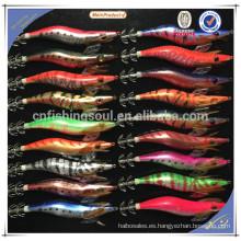 FSQL003 china alibaba pesca señuelo componente molde calamar artificial