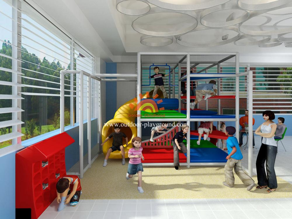 Commercial Small Kids Play Structure Indoor Playground