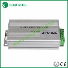 Codificador de direcciones DMX512, controlador de tarjeta DC5V SD, decodificador DMX dirigido