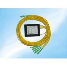 Connecteur monomode 1X5 Fbt avec séparateurs Sc Fiber Optical Splitter