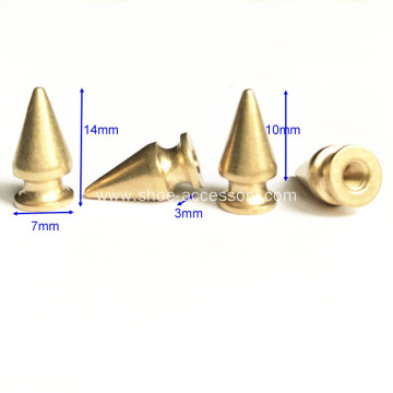 Brass Tree Spikes for Leathercrafts