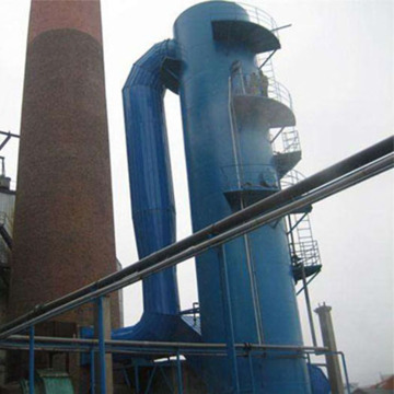 Principle of wet dust collector