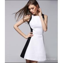 2016 heißer Verkauf elelgant Frauen Kleid mit Reißverschluss