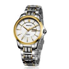 Ювелирные изделия из нержавеющей стали Автоматические деловые мужчины наручные часы