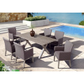 Aluminum Outdoor Tables And Chairs Dining Set