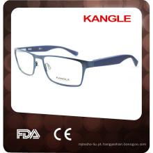 2017 com o seu logotipo Óculos Ópticos de metal personalizados personalizados mais novos
